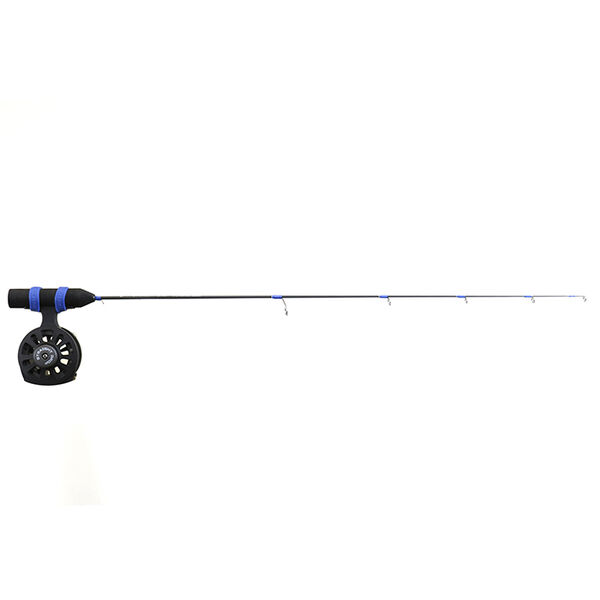 """Clam Straight Drop Rod and Reel Combo, 27"""" Light w/ML Spring Bobber"""