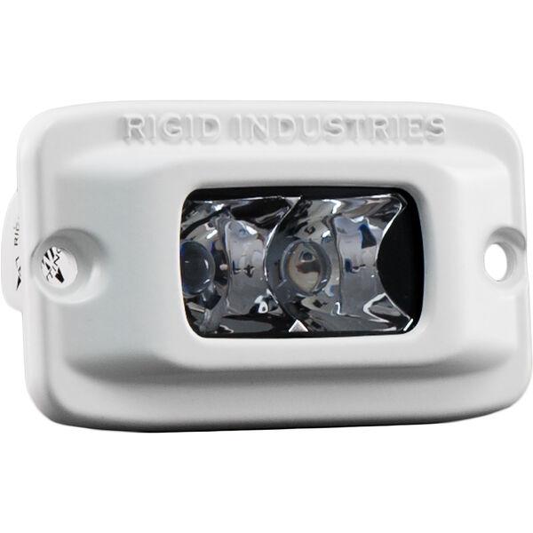 Rigid Industries Marine SR-M White LED Spot Light, Flush-Mount