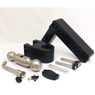 Weigh Safe 180° Drop Hitch w/Keyed Alike Key Lock and Hitch Pin, Black Cerakote Finish