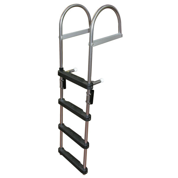 Dockmate Pontoon Transom Boarding Ladder, 4-Step