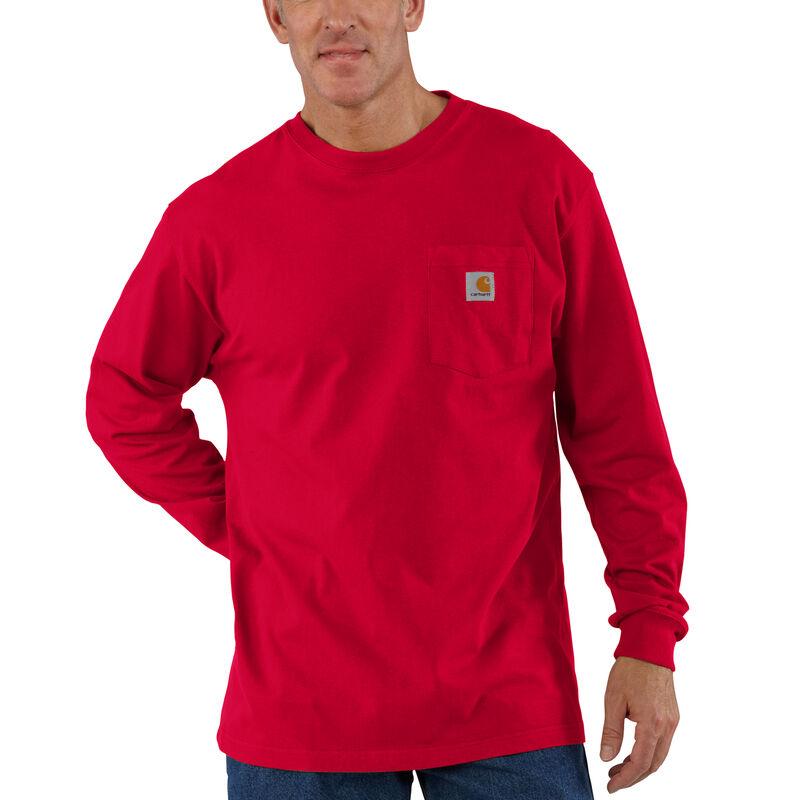 Carhartt Men's Workwear Long-Sleeve Pocket Tee image number 4