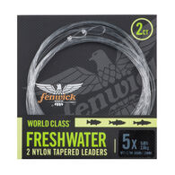 Fenwick World Class Freshwater Nylon Leaders, 2-Pack