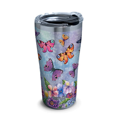 Tervis Butterfly Garden 20-oz. Stainless Steel Tumbler
