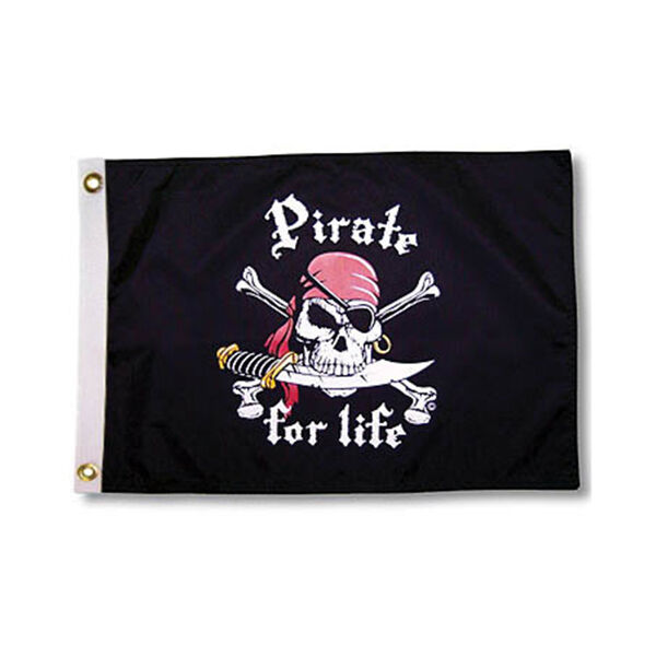 "Pirate for Life, 12"" x 18"""