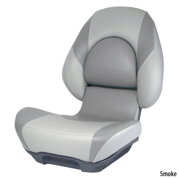 Attwood Standard Centric II Folding Boat Seat, Gray Base