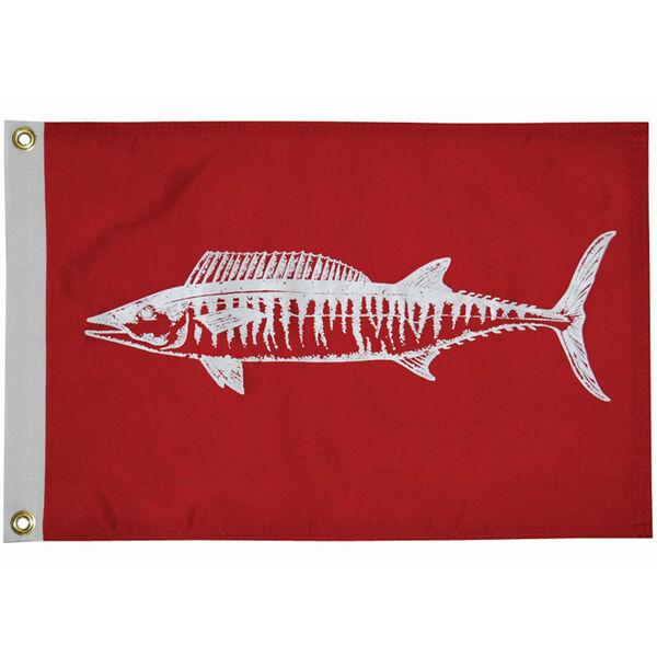 "Fisherman's Catch Flag 12"" x 18"", Wahoo"