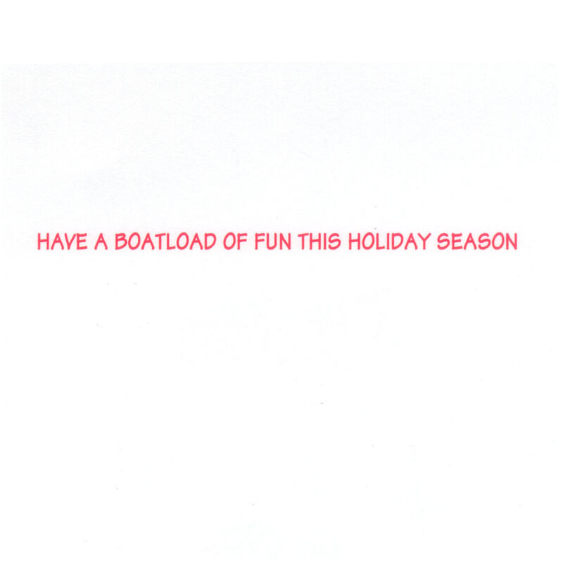 Kersten Brothers Santa Boarding Small Craft Card image number 2