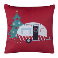 Christmas Camper Pillow