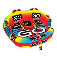 WOW 3-Person Go Bot Towable Tube