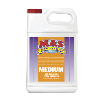 MAS Epoxies Medium Hardener, Half Gallon