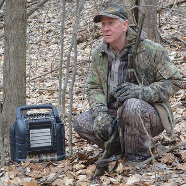 Hunting Buddy Propane Heater - For 49-state Use