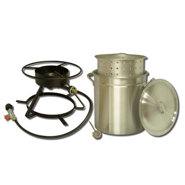 King Kooker Boiling and Steaming Cooker Package