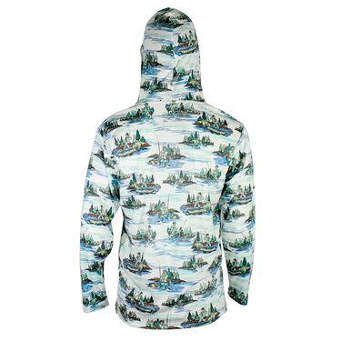 Reel Obsession Men's Lakeshore Long-Sleeve Fishing Shirt