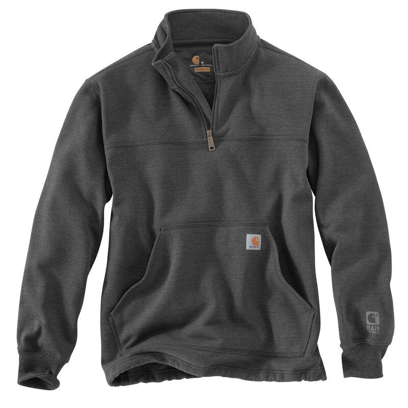 Carhartt Men's Rain Defender Paxton Heavyweight Quarter-Zip Sweatshirt image number 3