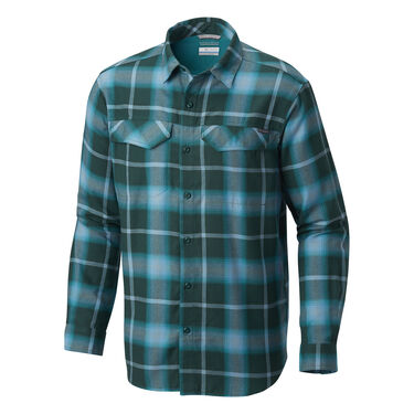Columbia Men's Silver Ridge Flannel Long-Sleeve Shirt