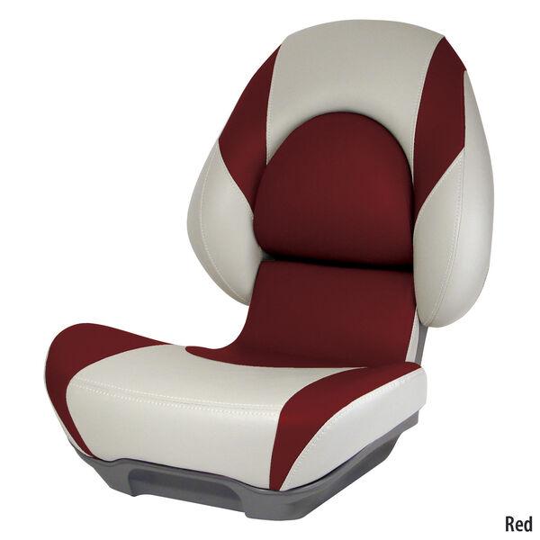 Attwood SAS Centric II Folding Boat Seat, Tan Base