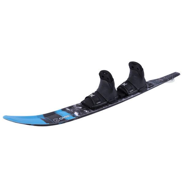 HO Boy's Omni Slalom Waterski With Double Animal Bindings