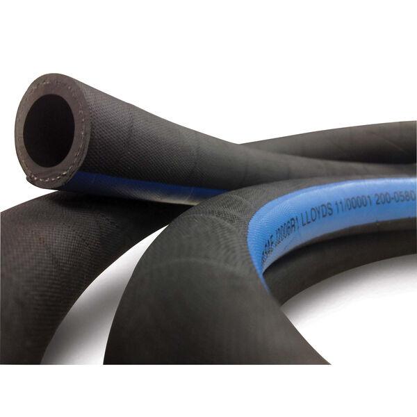 "Shields 1"" Marine Exhaust/Water Hose, 12-1/2'L"
