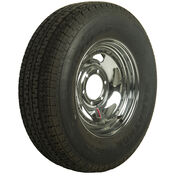 Goodyear Marathon 225/75 R 15 Radial Trailer Tire, 6-Lug Chrome Directional Rim