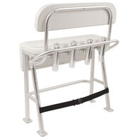 Taco Neptune III Deluxe Leaning Post With Backrest And Grab Rail