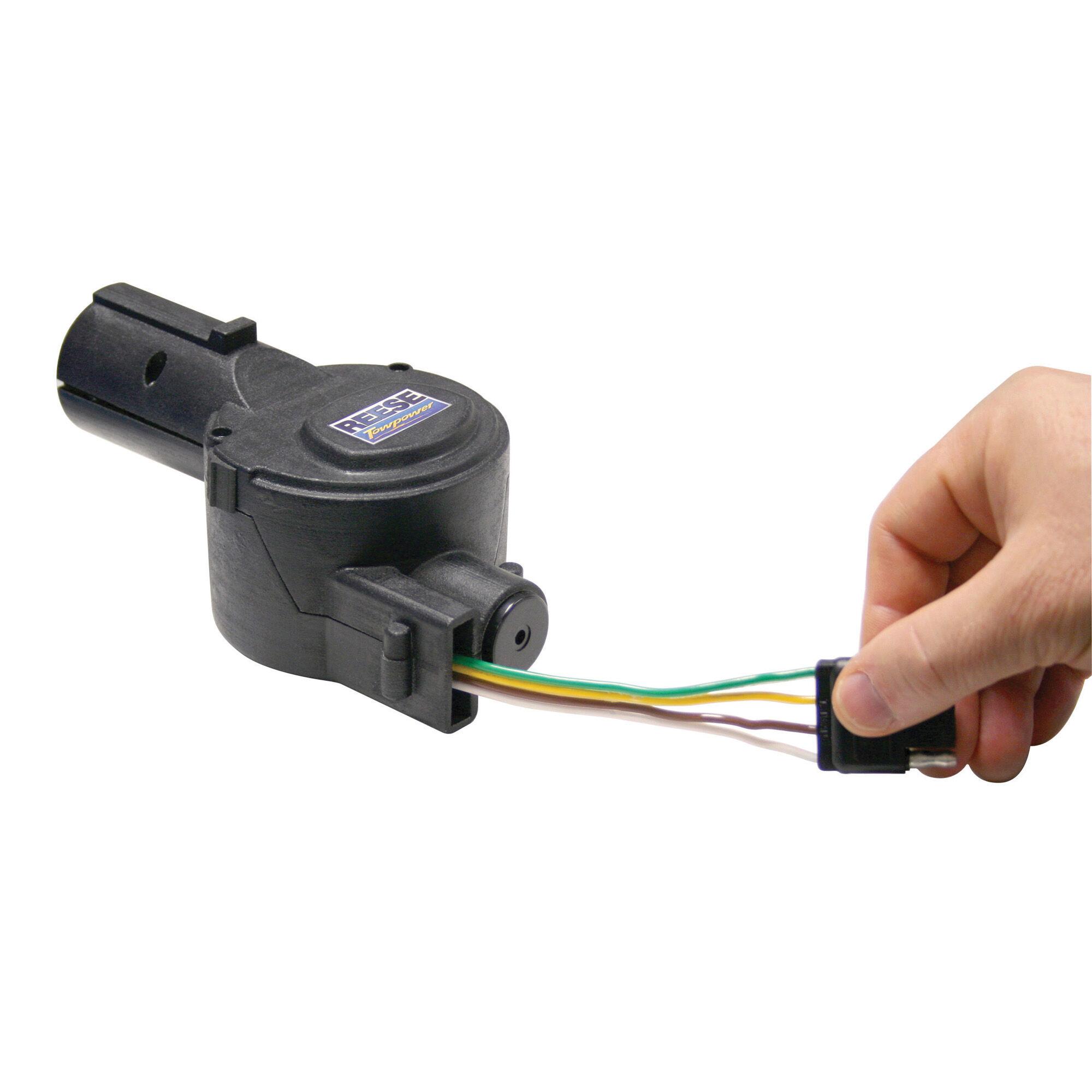 4 Round Trailer Connector Wiring