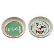 Lucky Dog Pet Bowl Set