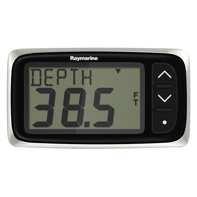 Raymarine i40 Depth Display System with Thru-Hull Transducer image number 1