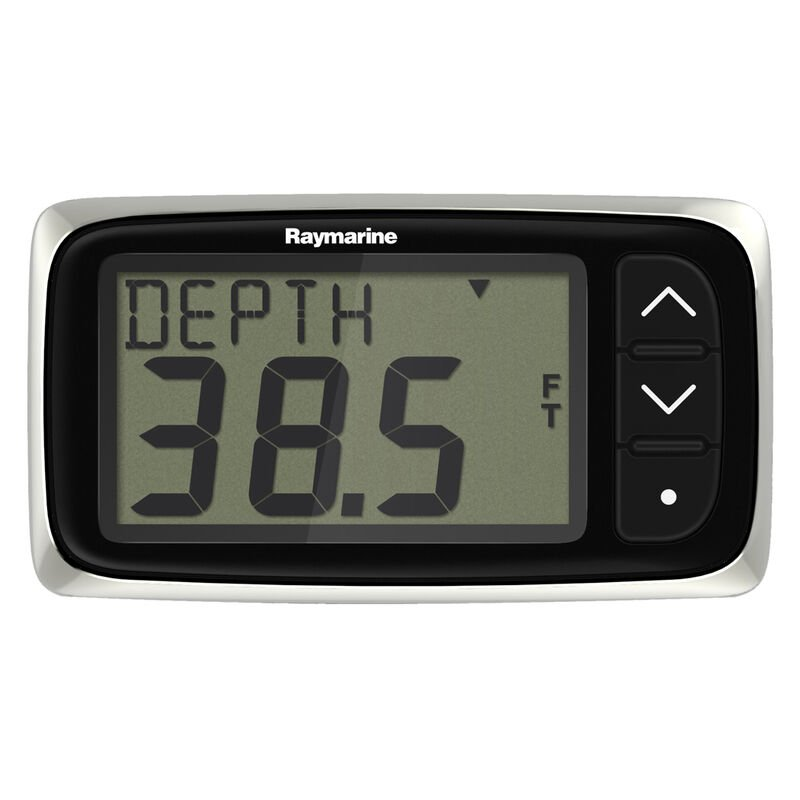 Raymarine i40 Depth Display System with Transom-Mount Transducer image number 1