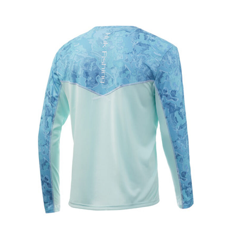 HUK Icon X Camo Long Sleeve Shirt image number 2