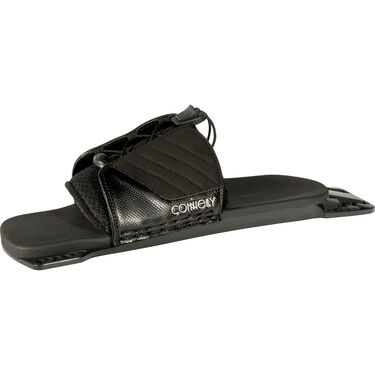 Connelly Carbon V Slalom Waterski With Tempest Binding And Rear Toe Plate