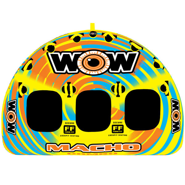 WOW Macho 3-Person Towable Tube