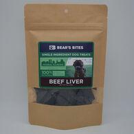 Bear's Bites Dog Treats, Beef Liver, 3 oz.