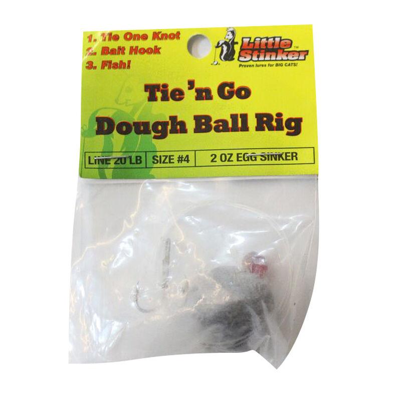 Little Stinker Tie 'N Go Dough Ball Bait Rig, 20-lb. Line, #4 Hook, 2 oz. Egg Sinker image number 2