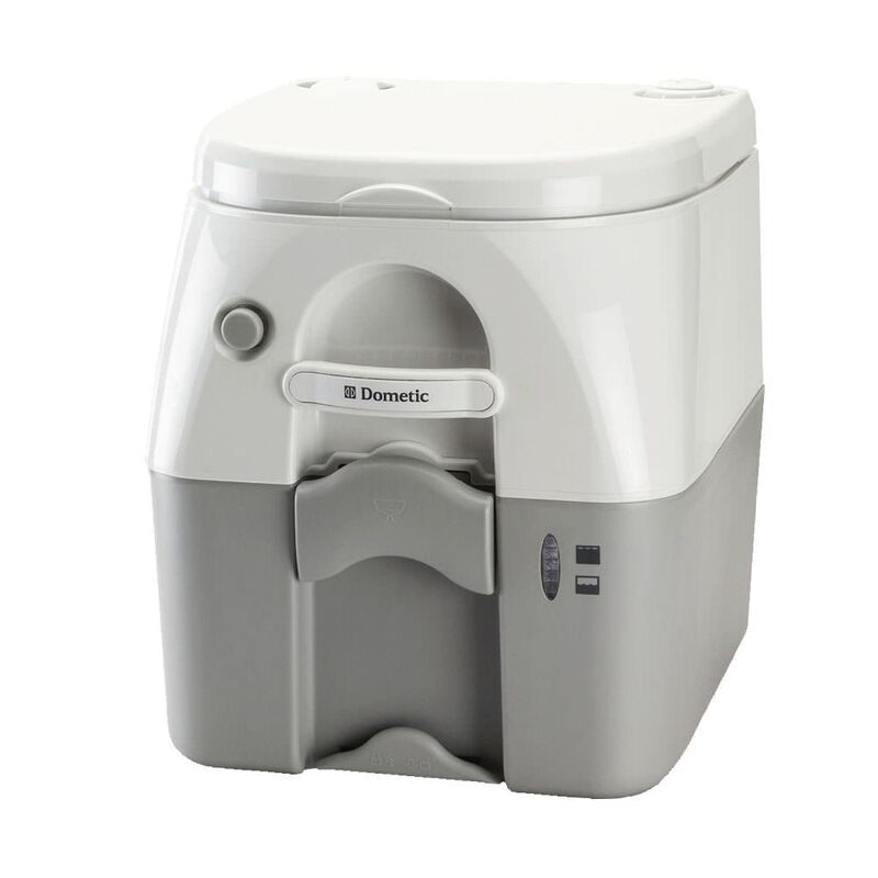 Dometic Portable RV/Marine Toilet, 5-Gallon, White image number 1