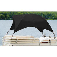 "Pontoon Easy-Up Shade 8'L x 102""W x 50""H, Black"