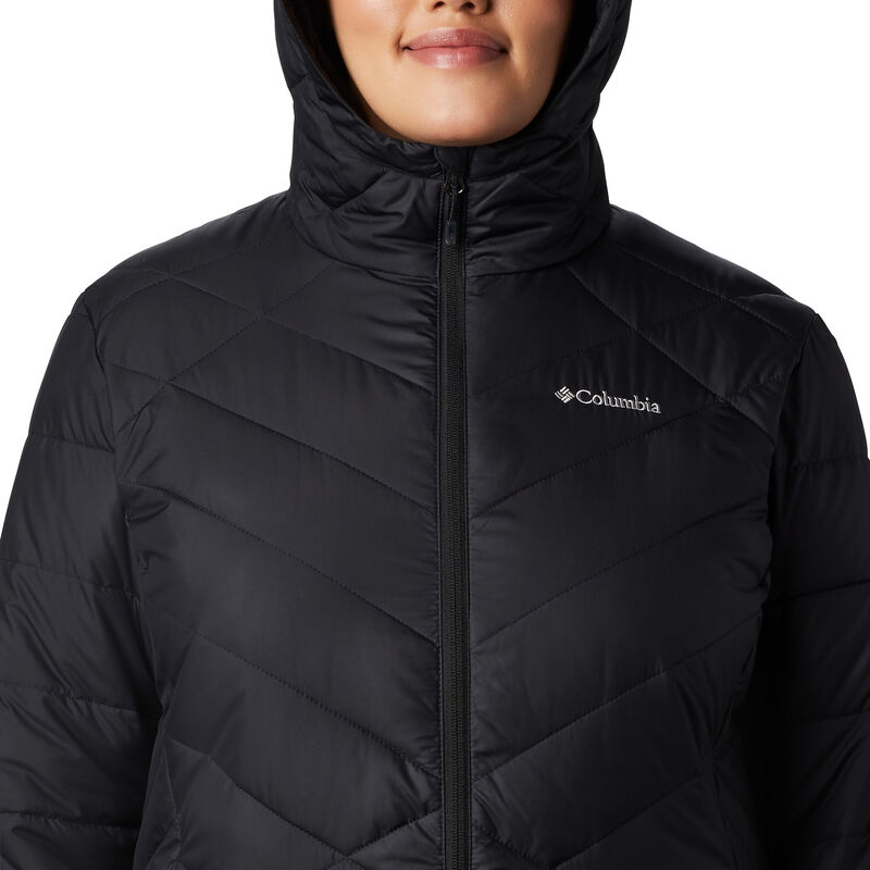 Columbia Women's Heavenly Long Hooded Jacket image number 8