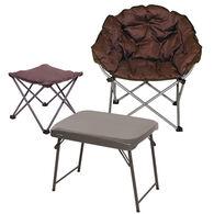 Club Chair, Ottoman and Table Bundle