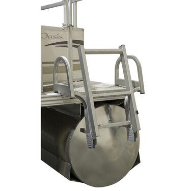 Toonmate 3-Step Dual-Curve Folding Pontoon Ladder