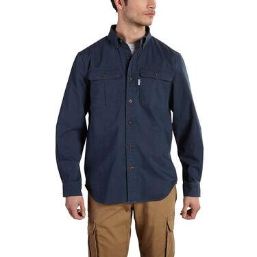 Carhartt Men's Foreman Solid Long-Sleeve Work Shirt