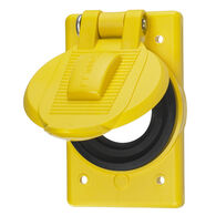 Hubbell Dockside Spring Loaded Cover Plate