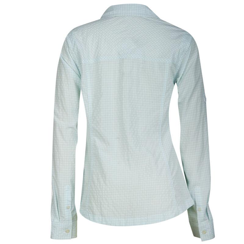 Ultimate Terrain Women's Trailhead Bug Repel Long-Sleeve Plaid Shirt image number 14