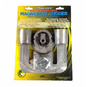 Martyr Mercury Anode Kit for Bravo I Engines, 1988-Present - Magnesium