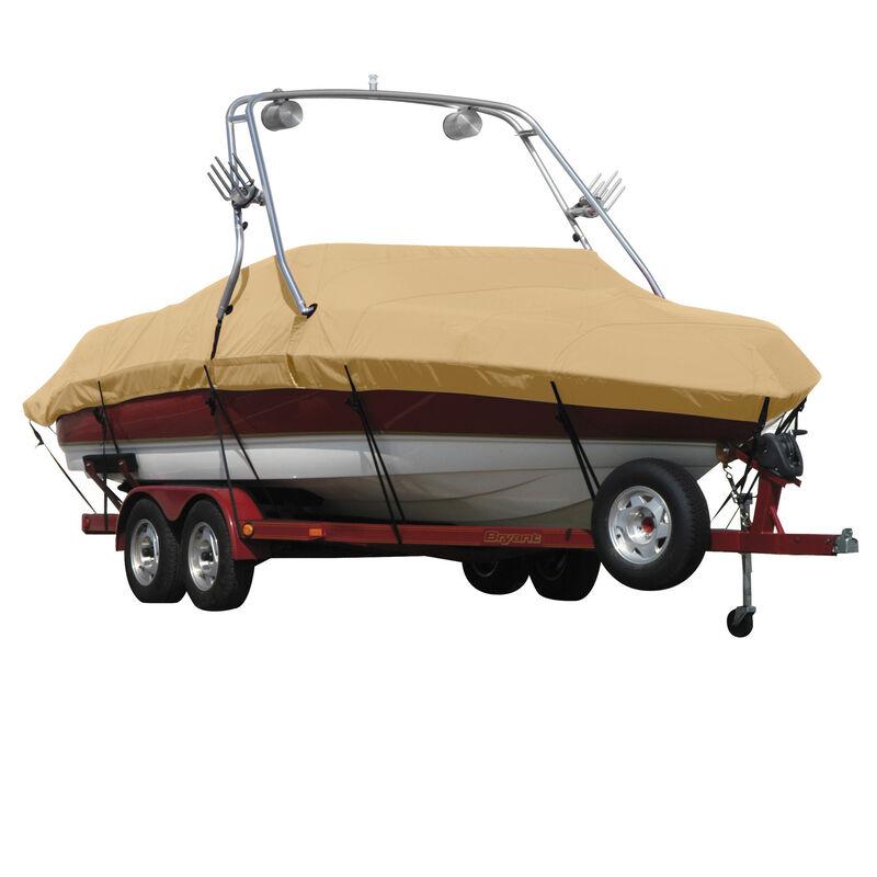 Exact Fit Sunbrella Boat Cover For Moomba Outback V W/Ski Pylon Covers Platform image number 19