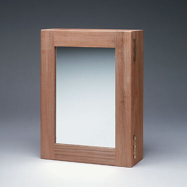 SeaForce Teak Medicine Chest w/Mirror