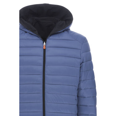 Save The Duck Men's Matt Reversible Full-Zip Jacket