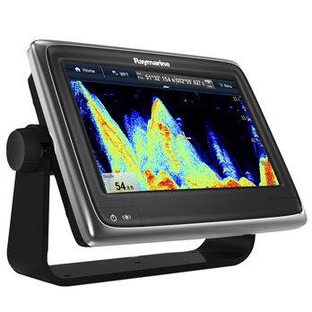 "Raymarine a97 9"" Chartplotter/Fishfinder With US C-MAP Charts"