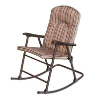 Striped Padded Rocker