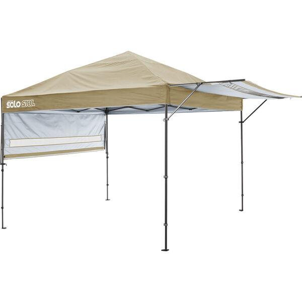 Shelterlogic Quik Shade Solo 170 Straight Leg Pop-Up Canopy, 10' x 10', Khaki