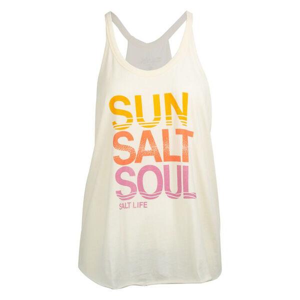 Salt Life Women's Sun Salt Soul Halter Tank Top