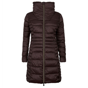 Save The Duck Women's Iris Long Quilted Winter Coat